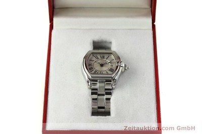 CARTIER ROADSTER ACIER QUARTZ KAL. 688 LP: 5250EUR [151265]