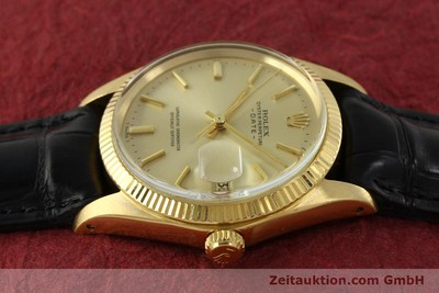 ROLEX DATE OR 18 CT AUTOMATIQUE KAL. 1570 LP: 19050EUR [151268]