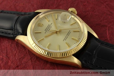 ROLEX DATE 18 CT GOLD AUTOMATIC KAL. 1570 LP: 19050EUR [151268]