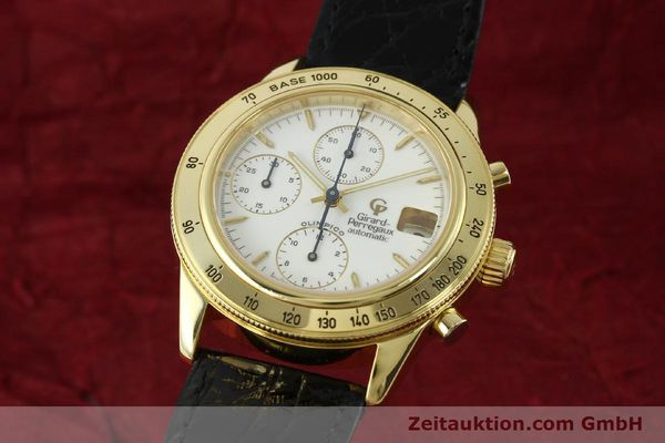 GIRARD PERREGAUX OLIMPICO 1992 CHRONOGRAPHE OR 18 CT AUTOMATIQUE KAL. GP8000-214 LP: 27500EUR [151271]
