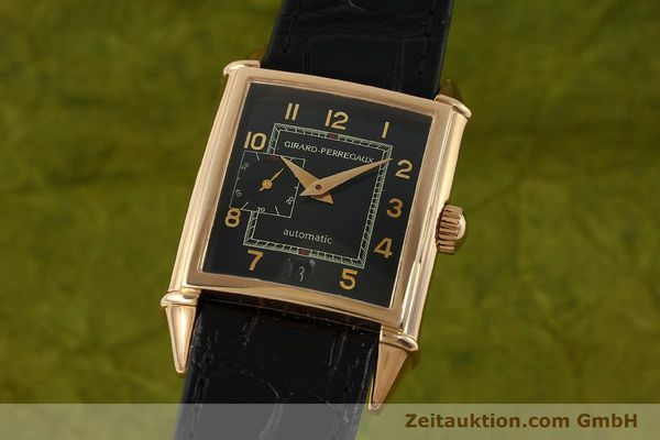 GIRARD PERREGAUX VINTAGE OR ROUGE 18 CT AUTOMATIQUE KAL. 3200 LP: 18900EUR VINTAGE [151277]