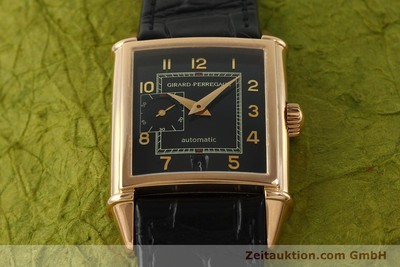 GIRARD PERREGAUX 18K ROT GOLD VINTAGE DATE SMALL SECOND 2596 VP: 18900,- EURO [151277]