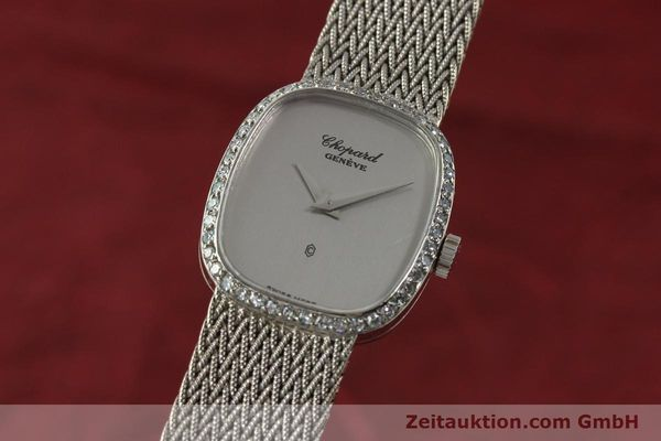 CHOPARD 18 CT WHITE GOLD QUARTZ KAL. 602 [151287]