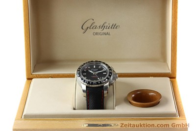 GLASHÜTTE SPORT EVOLUTION STEEL AUTOMATIC KAL. 39 LP: 7950EUR [151295]