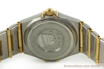 OMEGA LADY CONSTELLATION GOLD / STAHL DAMENUHR DATUM VP: 3960,- EURO [151307]