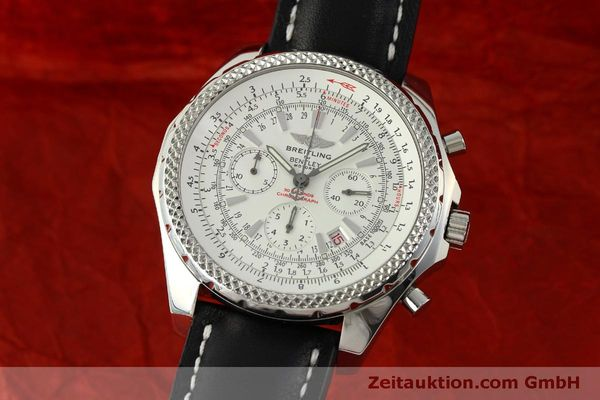 BREITLING FOR BENTLEY MOTORS CHRONOGRAPH AUTOMATIK STAHL A25362 VP: 7750,- EUR [151308]