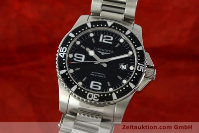 LONGINES CONQUEST STEEL AUTOMATIC KAL. ETA 2824-2 LP: 1000EUR [151312]