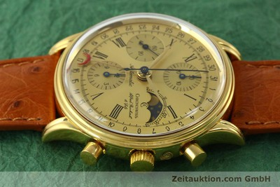 CHRONOSWISS A. ROCHAT CHRONOGRAPH GOLD-PLATED AUTOMATIC KAL. VALJ. 7750 [151313]