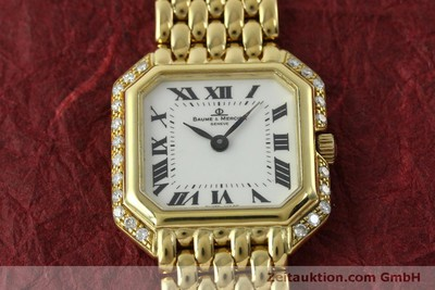 BAUME & MERCIER OR 18 CT QUARTZ KAL. BM5095 ETA 976.001 LP: 8250EUR [151314]