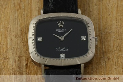 ROLEX CELLINI 18 CT WHITE GOLD MANUAL WINDING KAL. 1602 [151315]