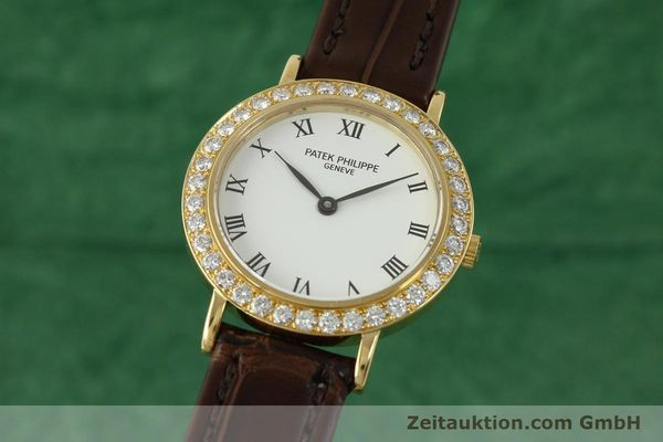 PATEK PHILIPPE CALATRAVA OR 18 CT QUARTZ KAL. E15 LP: 23230EUR [151321]