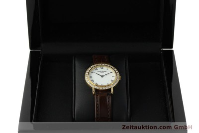 PATEK PHILIPPE LADY 18K GOLD CALATRAVA DAMENUHR 4820 DIAMANTEN VP: 23230,- Euro [151321]