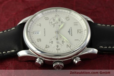 LONGINES AVIGATION CHRONOGRAPH STEEL AUTOMATIC KAL. L651.3 ETA 2894-2 LP: 1920EUR [151323]