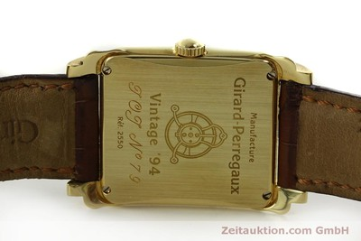 GIRARD PERREGAUX VINTAGE 18 CT GOLD MANUAL WINDING KAL. 2300-469 LP: 18900EUR [151324]