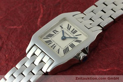 CARTIER SANTOS STEEL QUARTZ KAL. 157 LP: 3500EUR [151331]
