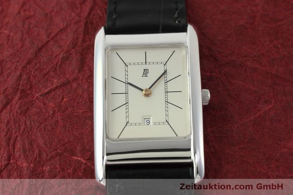 Used luxury watch Audemars Piguet * 18 ct white gold quartz Kal. 2610 VINTAGE  | 151335 14