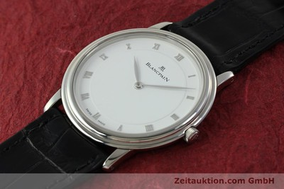 BLANCPAIN VILLERET STEEL MANUAL WINDING KAL. 21 LP: 7280EUR [151337]