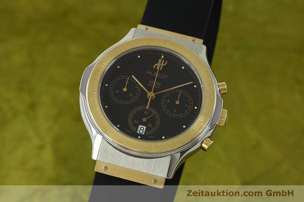 HUBLOT MDM CHRONOGRAPH STEEL / GOLD QUARTZ KAL. MDM 1270 [151344]
