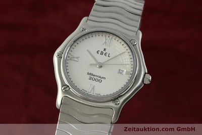 EBEL CLASSIC WAVE STEEL QUARTZ KAL. 687 LP: 1200EUR [151356]