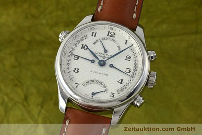LONGINES MASTER COLLECTION RETROGRANDE AUTOMATIK HERREN L2.715.4 VP: 2770,- EURO [151360]