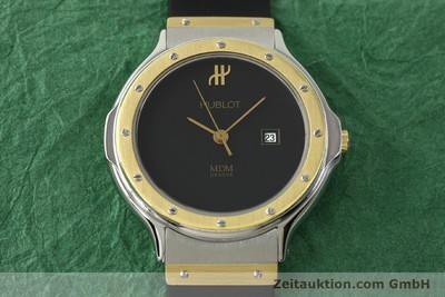 HUBLOT MDM STEEL / GOLD QUARTZ KAL. ETA 956.112 [151374]