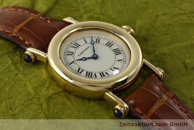 CARTIER 18 CT GOLD QUARTZ KAL. 157.06 [151378]