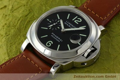 PANERAI LUMINOR STEEL AUTOMATIC KAL. A05511 LP: 6000EUR [151403]