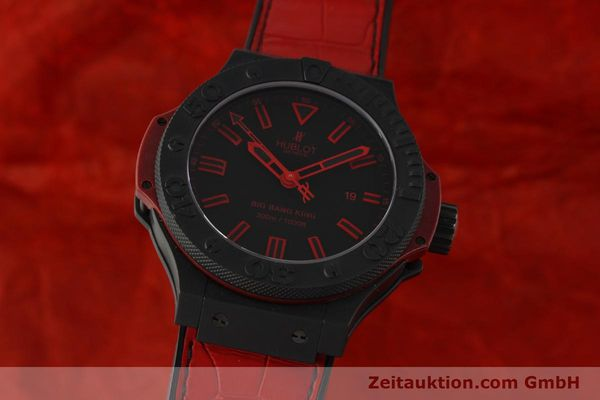 HUBLOT BIG BANG KING ALL BLACK RED KERAMIK LIMITIERTE EDITION HUB 21 NP:11300,-Euro [151410]