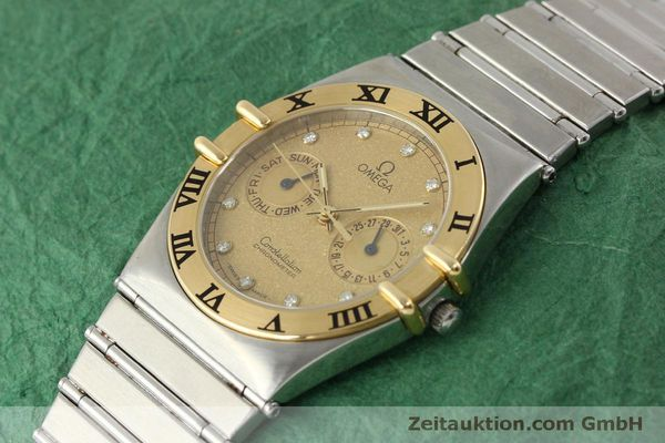 Used luxury watch Omega Constellation steel / gold quartz Kal. 1444  | 151412 01
