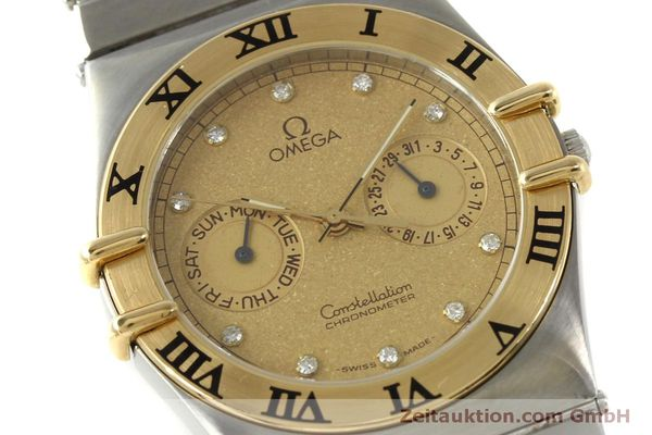 Used luxury watch Omega Constellation steel / gold quartz Kal. 1444  | 151412 02