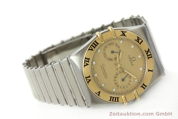 Used luxury watch Omega Constellation steel / gold quartz Kal. 1444  | 151412 03