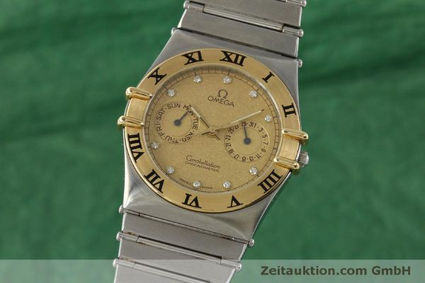 Used luxury watch Omega Constellation steel / gold quartz Kal. 1444  | 151412 04