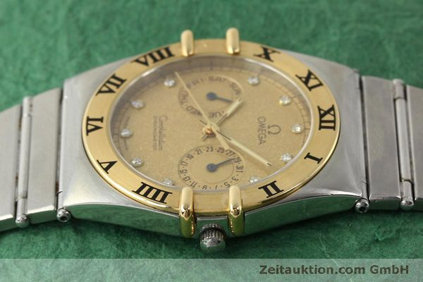 Used luxury watch Omega Constellation steel / gold quartz Kal. 1444  | 151412 05