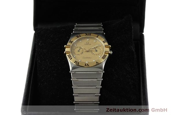 Used luxury watch Omega Constellation steel / gold quartz Kal. 1444  | 151412 07