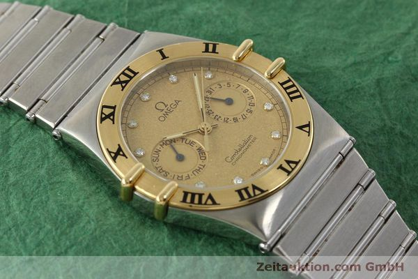 Used luxury watch Omega Constellation steel / gold quartz Kal. 1444  | 151412 13