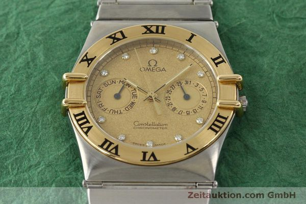 Used luxury watch Omega Constellation steel / gold quartz Kal. 1444  | 151412 14