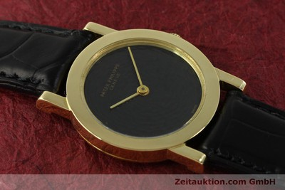 PATEK PHILIPPE CALATRAVA 18 CT GOLD MANUAL WINDING KAL. 23-300 [151419]
