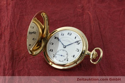 ASSMANN TASCHENUHR 14 CT YELLOW GOLD MANUAL WINDING [151424]