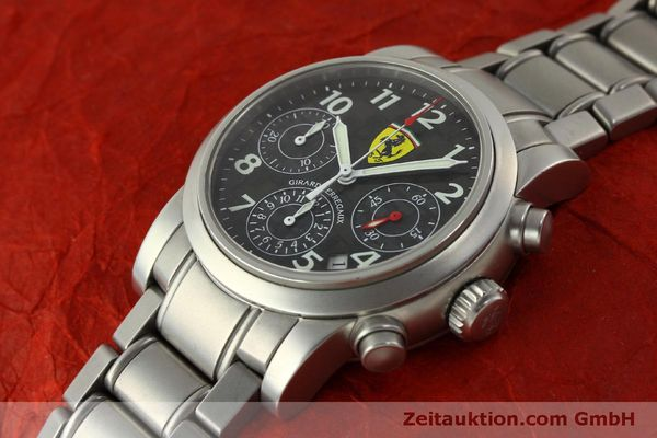 Used luxury watch Girard Perregaux Ferrari chronograph steel automatic Kal. 2280-031 Ref. 8020  | 151430 01