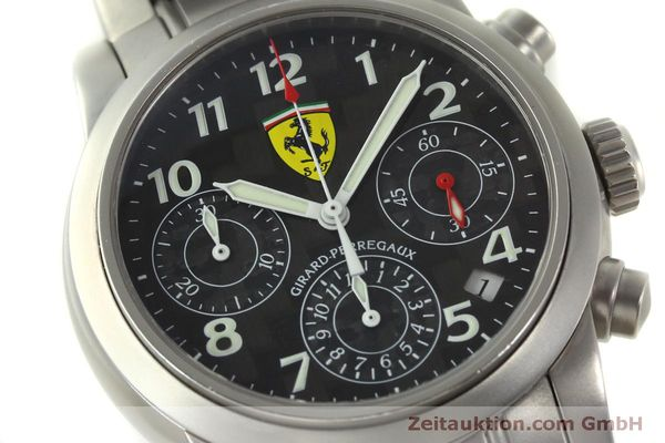 Used luxury watch Girard Perregaux Ferrari chronograph steel automatic Kal. 2280-031 Ref. 8020  | 151430 02