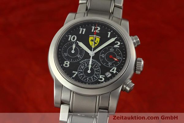Used luxury watch Girard Perregaux Ferrari chronograph steel automatic Kal. 2280-031 Ref. 8020  | 151430 04