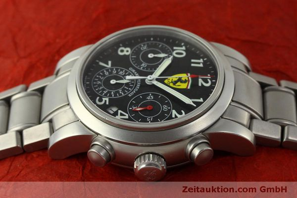 Used luxury watch Girard Perregaux Ferrari chronograph steel automatic Kal. 2280-031 Ref. 8020  | 151430 05