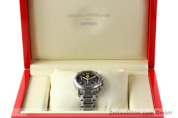 Used luxury watch Girard Perregaux Ferrari chronograph steel automatic Kal. 2280-031 Ref. 8020  | 151430 07