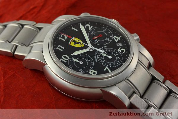 Used luxury watch Girard Perregaux Ferrari chronograph steel automatic Kal. 2280-031 Ref. 8020  | 151430 16