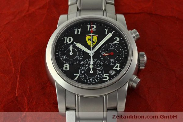 Used luxury watch Girard Perregaux Ferrari chronograph steel automatic Kal. 2280-031 Ref. 8020  | 151430 17