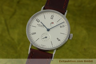 NOMOS TANGENTE STEEL MANUAL WINDING KAL. GAMMA 2265 LP: 1960EUR [151433]