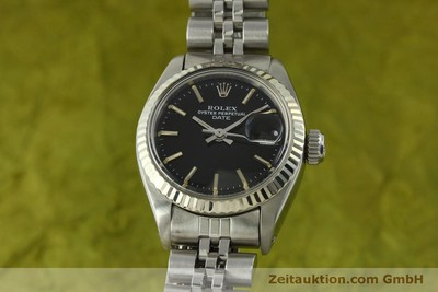 ROLEX LADY DATE ACIER / OR BLANC AUTOMATIQUE KAL. 2030 LP: 6000EUR [151434]