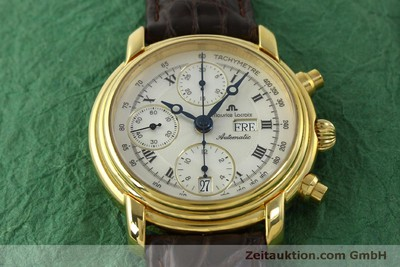MAURICE LACROIX CRONEO CHRONOGRAPH GOLD-PLATED AUTOMATIC KAL. ETA 7750 [151437]