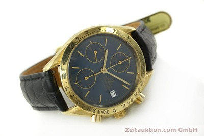 OMEGA SPEEDMASTER CHRONOGRAPH 18 CT GOLD AUTOMATIC KAL. 1155 LP: 14200EUR [151441]