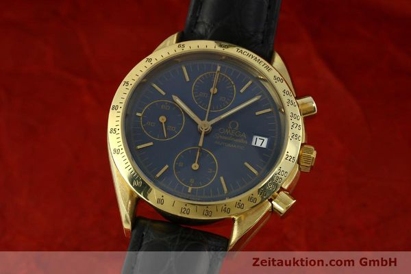 OMEGA SPEEDMASTER CHRONOGRAPHE OR 18 CT AUTOMATIQUE KAL. 1155 LP: 14200EUR [151441]